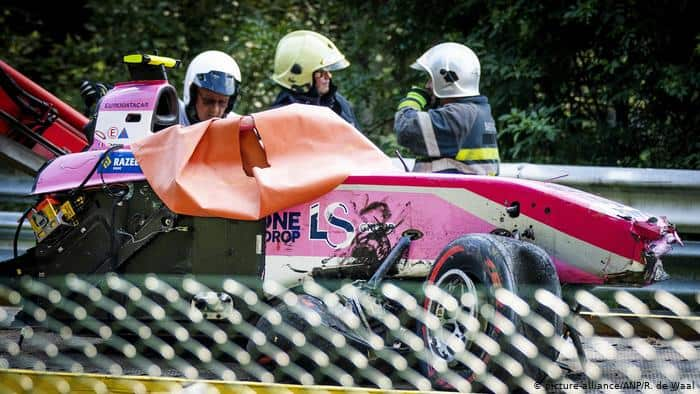 F2 driver Anthoine Hubert killed in huge crash at Spa Francorchamps