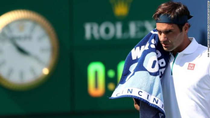 Roger Federer fastest defeat in 16 years at the Cincinnati Masters
