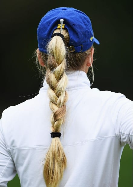 pigtail hairstyle