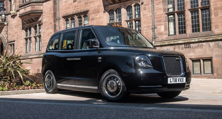 luxury taxis london