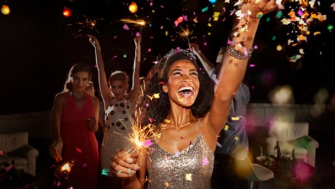 Celebrate A New Year's Eve Party