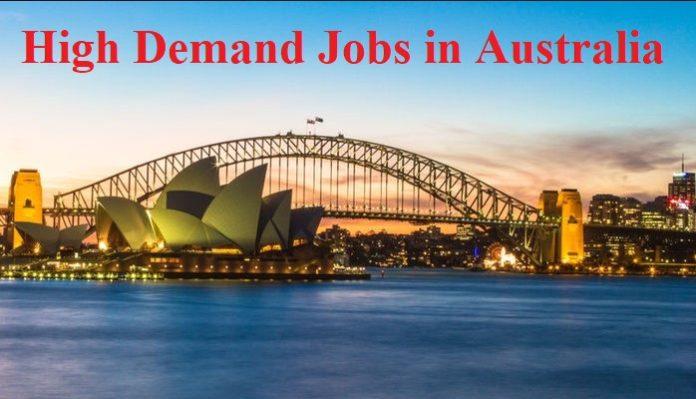 most high demand jobs in Australia
