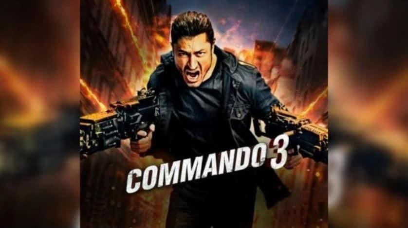 Commando 3 Hindi Full Movie Leaked Online Download