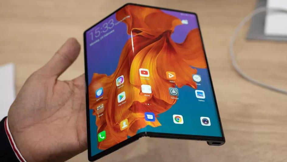 Repair the foldable Mate X Phone screen