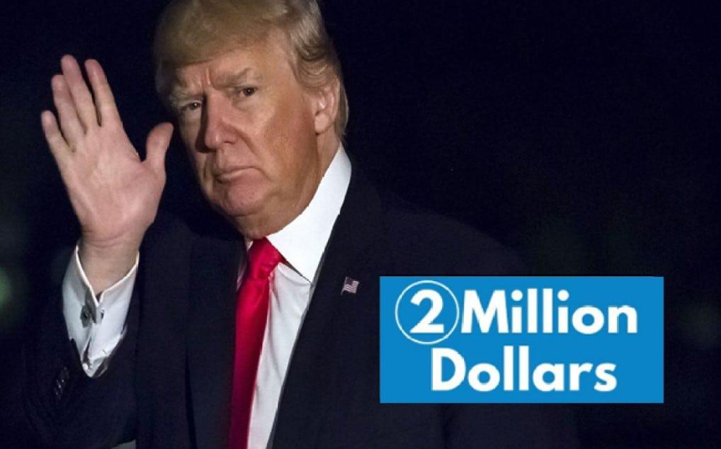US Court Fined 2 Million USD Dollars to President Trump