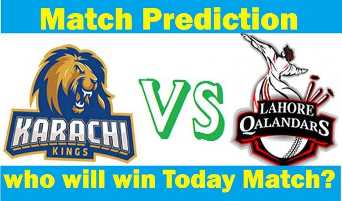 Lahore Qalandars vs Karachi Kings who will win