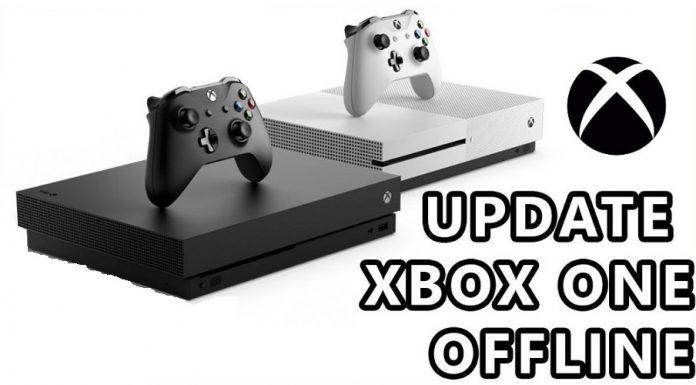 Xbox one offline update
