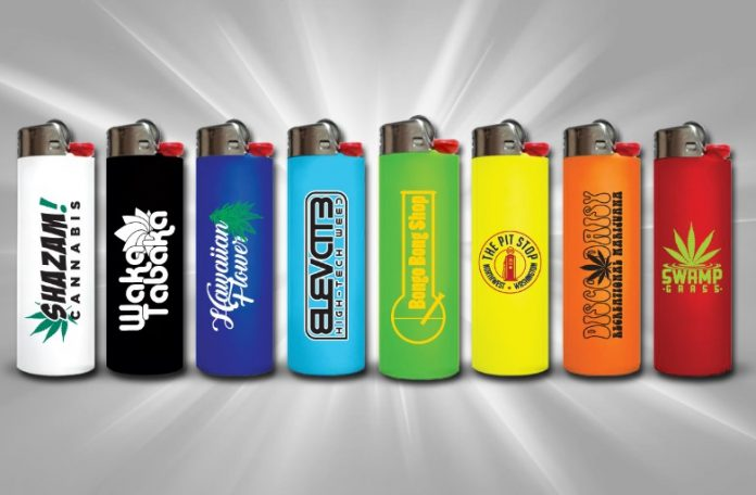 custom BIC Lighters