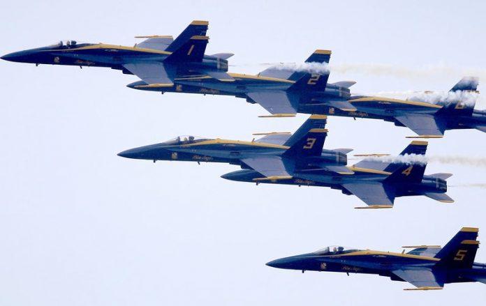 Blue Angels And Thunderbirds Salute NY Coronavirus