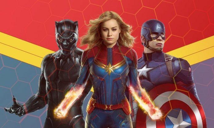 Captain Marvel DVD Release Date
