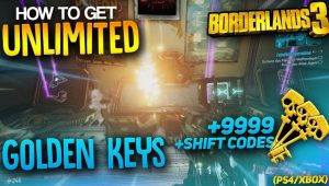 borderlands 3 golden keys