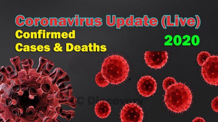 coronavirus live map 2020