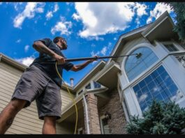Using A WATER FED POLE For WINDOW CLEANING