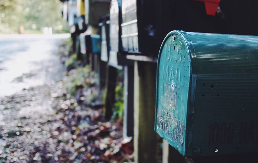 Mail forwarding from Australia