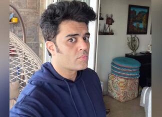 Maniesh Paul shaves and wants to know what he looks like, what do you think?