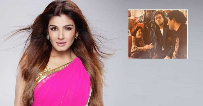 "Raveena Tandon Reminisces The Time When Actors Travelled In A Same Bus Like One Happy Family ""Now Everyone Has Their Own Vanity Vans"""