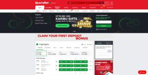 SportyBet-website