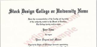 Buy Fake Diploma In The USA