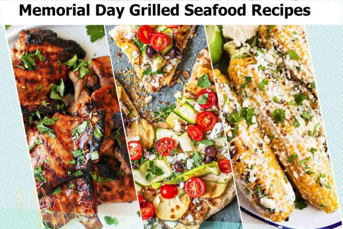 Start the summer off right with these Memorial Day grilled seafood recipes