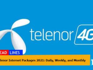 Telenor-Internet-Packages-