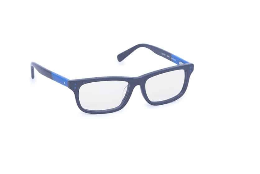 Blue and Black Eyeglasses