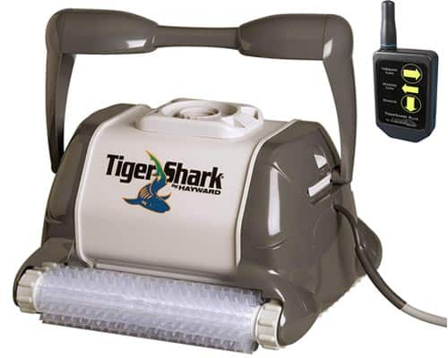 TigerShark Plus Automatic Robotic Pool Cleaner with Remote Control