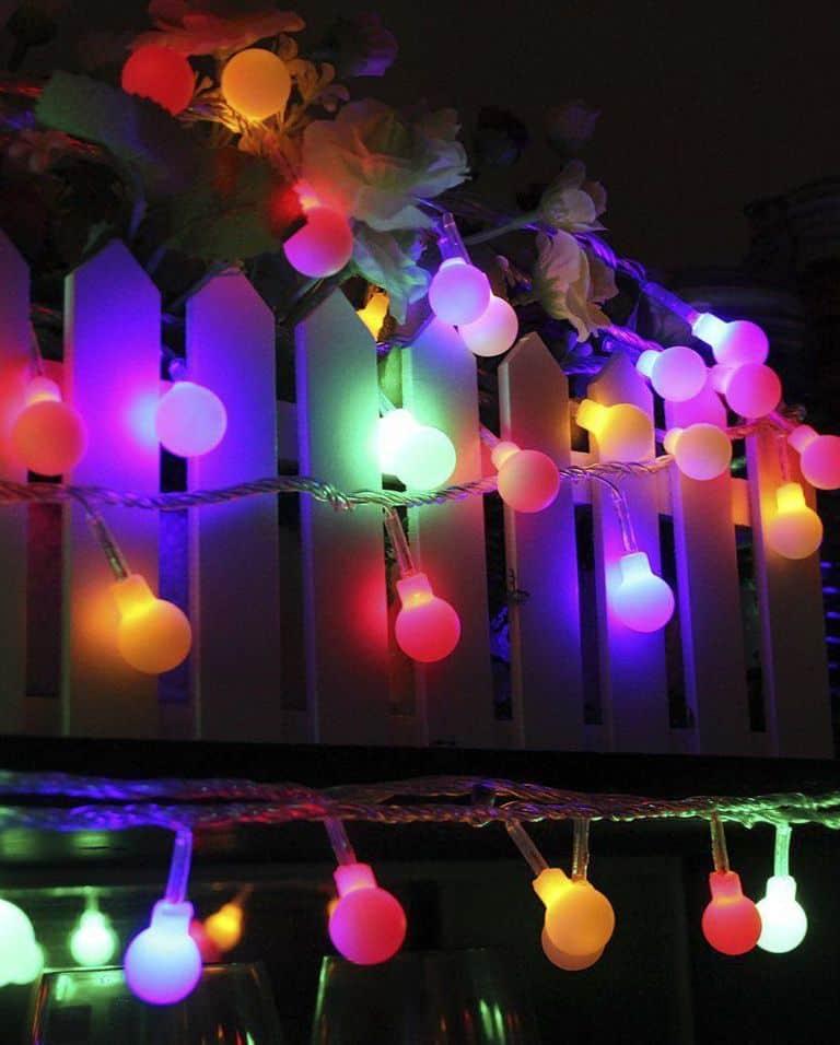 55' LED Multi-Color Globe Lights