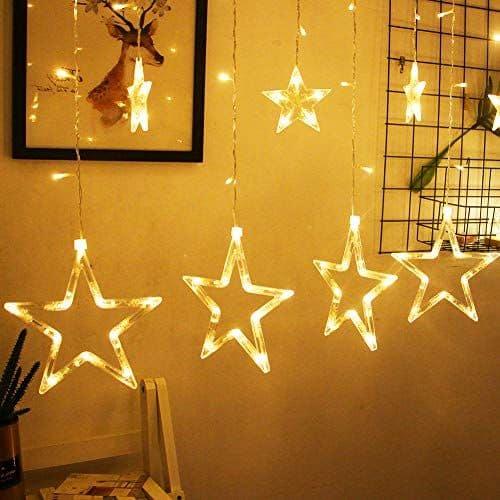 BHCLIGHT 12 Stars 138 LED Star Lights